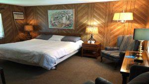 Alpine Court Motel Room
